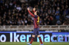 Sublime Messi lob and Neymar thunderbolt help Barcelona hit Rayo for six
