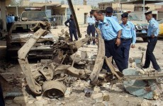 Suicide bomber kills 20 policemen in central Iraq