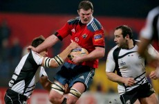 Donnacha Ryan 'ready to go' for Ireland says Munster coach Rob Penney