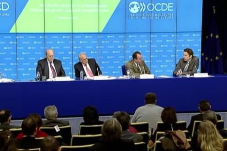 Michael Noonan at the OECD seminar today.