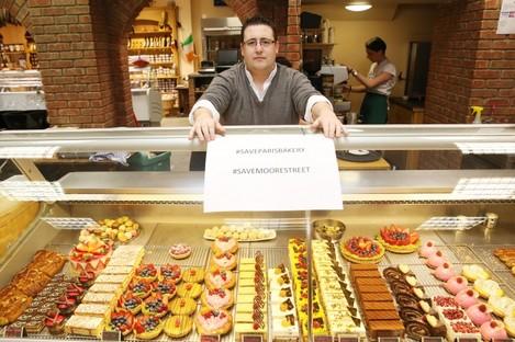 Stephen Cunningham of Moore Street's Paris Bakery.