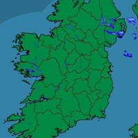 Let's all take a few seconds to marvel at an ALMOST rain-free Ireland