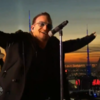 U2 sang on a roof 70 storeys above New York for Jimmy Fallon's first Tonight Show