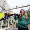 Florence Bell fails to complete course in women's slalom