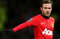 United can still make the top four, insists Juan Mata