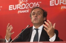 Platini: Fans will love new 'Week of Football' format for Euro 2016 qualifiers