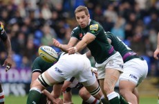 London Irish's Tomás O'Leary banned for three weeks