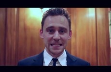 Tom Hiddleston charms knickers off everyone with terrible acceptance video