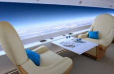 Private supersonic jet replaces windows with live-streaming screens