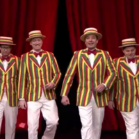 Jimmy Fallon sang Ignition (Remix) as a barbershop quartet and it was wonderful