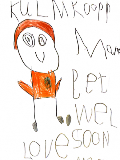 5-year-old Kerry fan sends 'Get Well Soon' card to Colm Cooper after cruciate injury