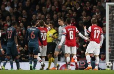 GIF: A very, very bold hand gesture from Wojciech Szczesny after getting sent off