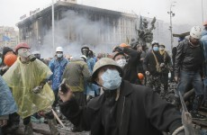 Ukranian president announces 'truce', start of peace negotiations