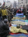 Death toll climbs to 60 in Kiev as 67 police officers 'seized'