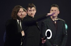 Arctic Monkeys give 2 baffling and wonderful speeches at the Brits