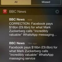 BBC's amazing WhatsApp Twitter typo