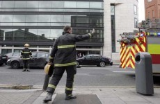 Fire breaks out in Dublin office - right opposite the fire station