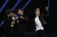 Harry Styles makes mortifying run from urinal to stage at Brit Awards