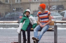 Norwegians react wonderfully to freezing boy at bus stop