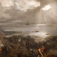Iconic 'Battle of Clontarf' painting returns to Dublin 3 ... from Hawaii
