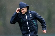 Schmidt confident of just one thing, Ireland players will put the effort in