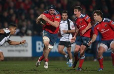 Donnacha Ryan and Tommy O'Donnell in Munster team for Ospreys clash