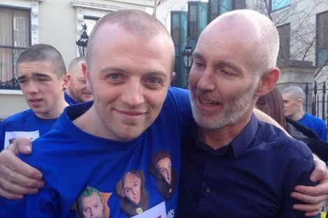 Some of you may recognise the newly bald, Gavan Reilly, who previously worked at TheJournal.ie.