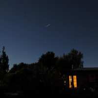 It's a bird, it's a plane...No it's the International Space Station