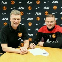 Wayne Rooney has signed his multi-million pound Man United contract extension