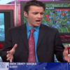 News anchor performs entire snow report in the style of Let It Go from Frozen