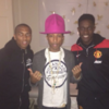Look who Ashley Young and Danny Welbeck bumped into last night