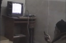 Watch: New videos of Osama Bin Laden show him watching himself on television