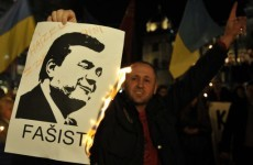 Ousted Ukrainian President tried to flee but was stopped by border guards