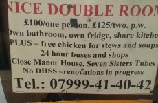 Bizarre room rental ad includes 'free chicken for stews and soups'