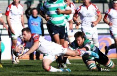 Ulster squeeze past Treviso in Pro12 thanks to Cave and Diack tries