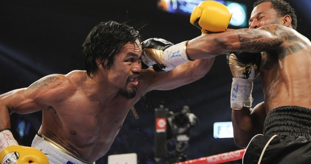 Pacquiao wins lopsided decision over Mosley