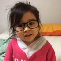 This little girl is the cutest comedian on the internet