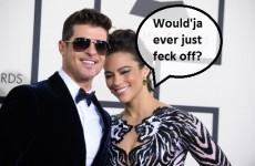 Robin Thicke and wife split in least surprising break-up ever... it's The Dredge