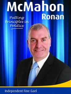 This local election candidate's 'Independent Fine Gael' leaflet is 'confusing' voters