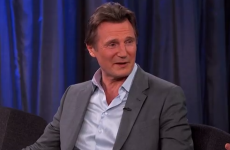 Liam Neeson burned the backside off Ireland on Jimmy Kimmel last night