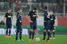 As it happened: Olympiakos v Manchester United, Champions League