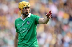 Sidelined - Limerick hurler David Breen to miss rest of league due to knee operation