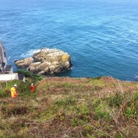 Man falls from cliffs at Howth