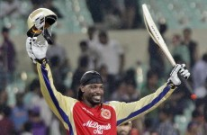 WATCH: Chris Gayle scores 36 runs - in a single over