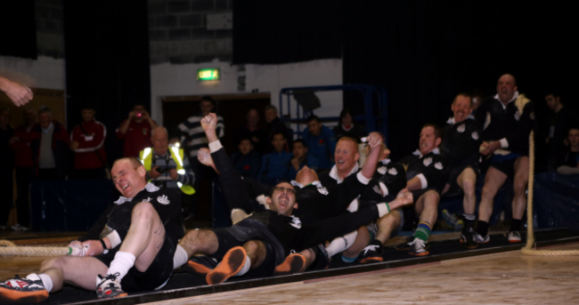 Irish tug of war team savour gold medal and world champion status