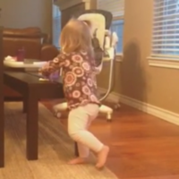 Toddler refuses to share Pop-Tart, karma gets instant revenge