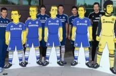 Eat my shorts! Chelsea stars get The Simpsons treatment