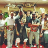 LeBron James got WWE title belts for his Miami Heat teammates