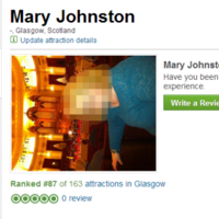 Woman accidentally becomes Glasgow's '87th most popular attraction'