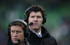 'I was critiqued plenty of times as a player' - Shane Horgan on being an analyst